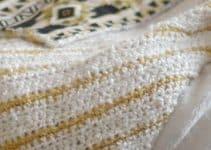 Tejidos a crochet para mantas en 3 puntos diferentes