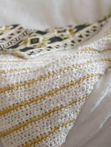 tejidos a crochet para mantas lineas