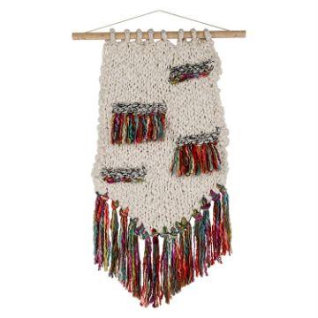 adornos al crochet para colgar ideas abstractas