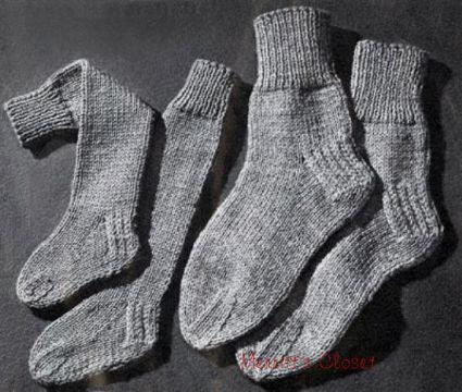 calcetines a dos agujas faciles de crear