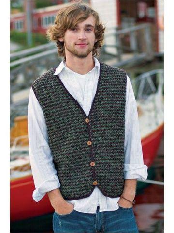 chalecos para hombre tejidos con botones