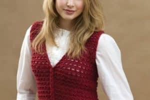 Geniales chalecos tejidos a crochet paso a paso gancho 2mm