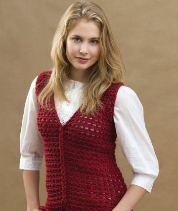 chalecos tejidos a crochet paso a paso formal