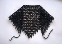 5 pasos para hacer una pañoleta tejida a crochet original