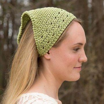 pañoleta tejida a crochet originales y sencillas