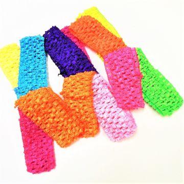 vinchas tejidas crochet coloridas