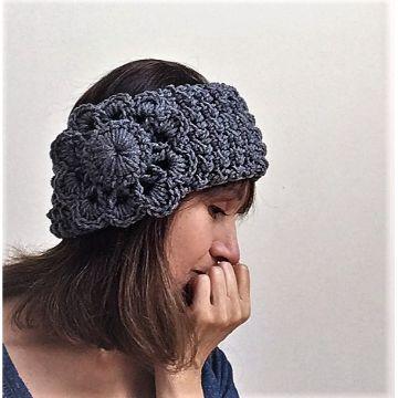 vinchas tejidas crochet con flores