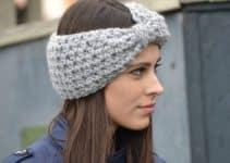 4 diseños en vinchas tejidas crochet para niñas y jovenes
