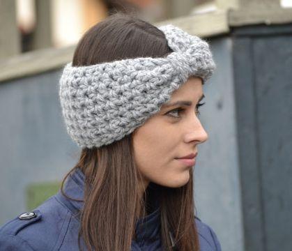 vinchas tejidas crochet modernos