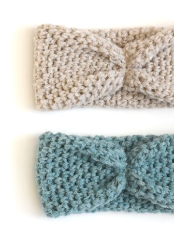 vinchas tejidas crochet tipo moño
