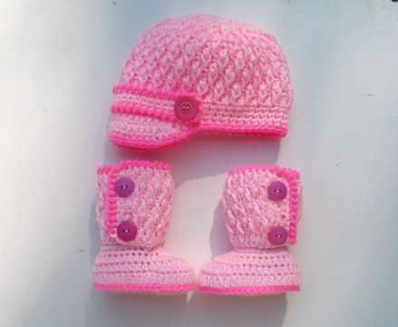 gorras con visera para bebes conjuntos