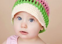 Bonitas gorras con visera para bebes con gancho de 4 mm