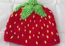 Diseños en gorras tejidas para bebe a 3 puntos y colores