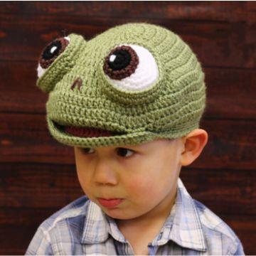 gorros infantiles a crochet originales de animales