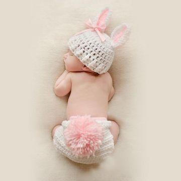 tejidos para recien nacidos gorro y pañal