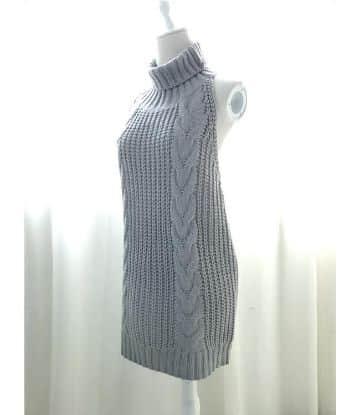chalecos largos de lana elegante