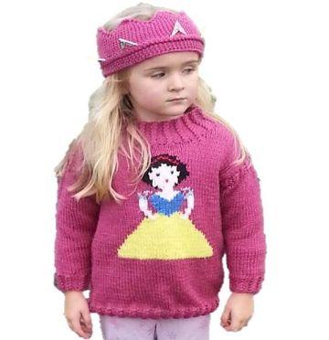 chompas tejidos para niñas con imagenes