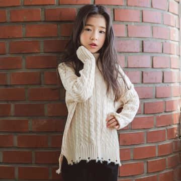 chompas tejidos para niñas modernas