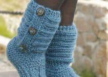3 escarpines para adultos al crochet tipo bota y un zapato