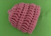 Geniales diseños en gorros a crochet en 3d para niños