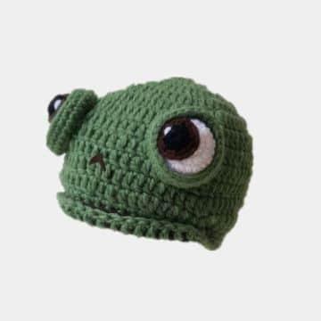 gorros a crochet en 3d de animales