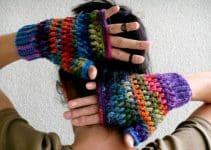 5  pasos para hacer guantes de lana sin dedos originales