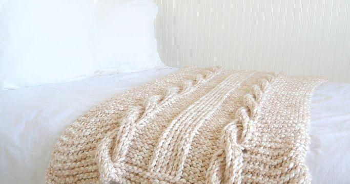 mantas de lana de colores puntos en relieve