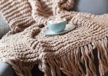 4 diseños originales en mantas de lana para sofa u cama