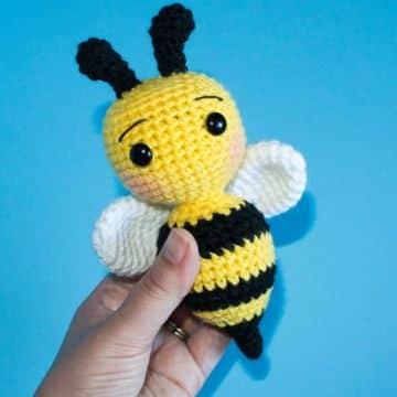 abeja amigurumi patron gratis rellenos
