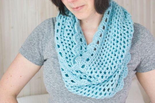 chalinas a crochet para mujeres a ganchillo