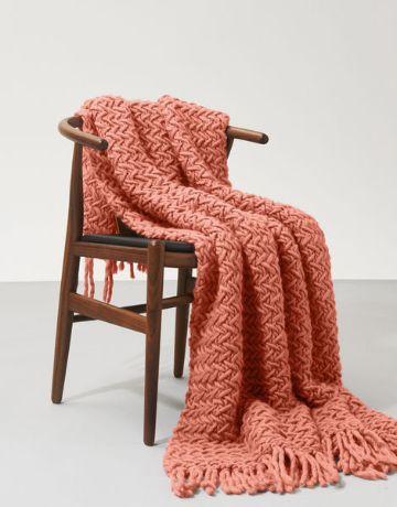 cobijas de lana de borrego con flecos de borde