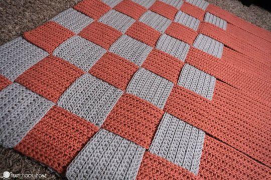 cuadros tejidos para colchas texturas