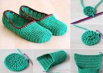 4 escarpines a crochet paso a paso para toda la familia