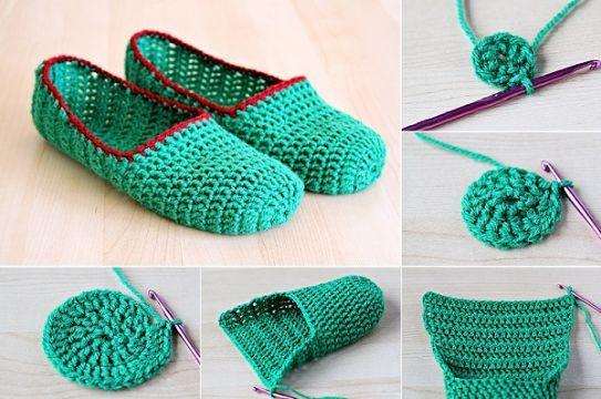 escarpines a crochet paso a paso primeros pasos