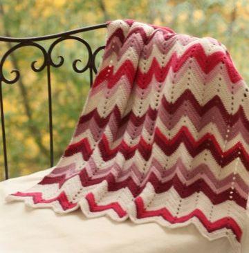 mantas de alpaca a crochet con lana