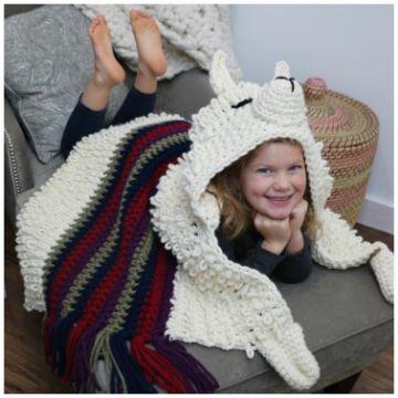 mantas de alpaca a crochet figuras