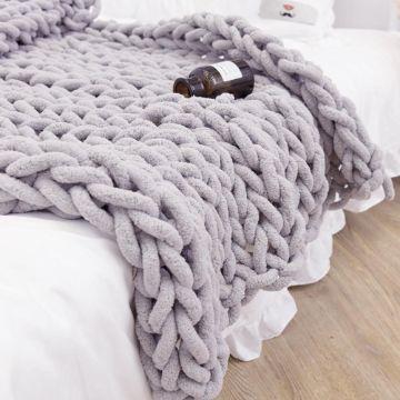 mantas de lana hechas a mano xxl