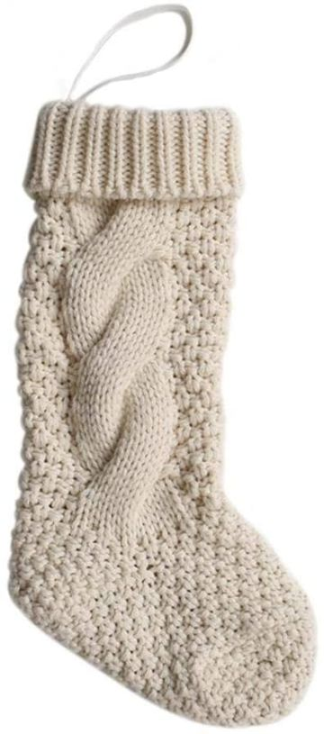 medias de lana tejidas punto espiga