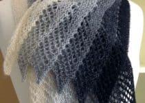 Como tejer chalinas modernas con ganchillo de 2 metros