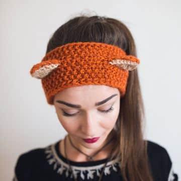 vinchas de lana para niñas con orejas