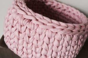 2 utilidades para canastas a crochet patrones sencillos