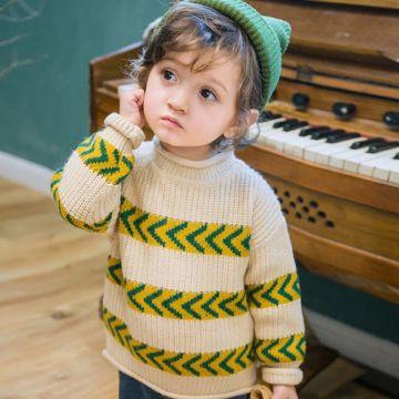 chompas a crochet para niñas con bonitos estampados