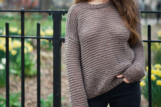 chompas de lana para señorita con puntos basicos