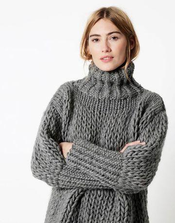 chompas de lana para señoritas cuellos para frio