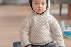 Diseños en chompas para bebes varones de 2 años