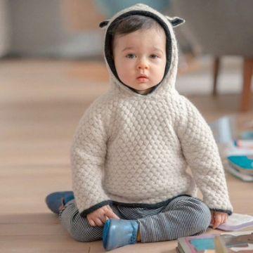 chompas para bebes varones con orejas y gorro