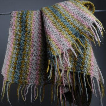 colchas a crochet paso a paso bordes de flecos
