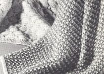 Bonitos diseños en colchas tejidas para bebe a 2 agujas