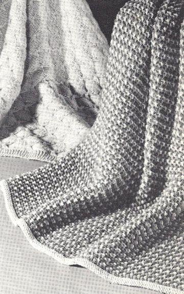 colchas tejidas para bebe puntadas esteticas