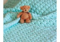 Bonitas mantas a crochet para bebe de 0 a 3 meses
